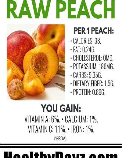 Raw Peach