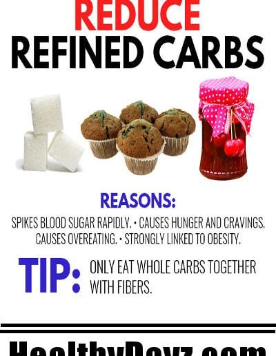 Reduce Refined Carbs